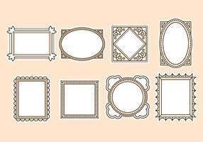 Free Vintage Frame Vektor