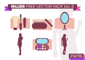 Mujer fri vektor pack vol. 6
