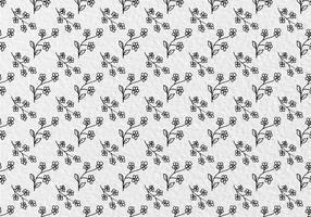 Free Vector Blumen Muster