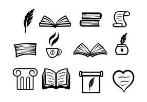 Gedicht und Schreiben Vektor