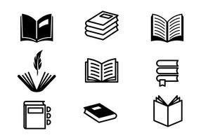 Gedicht und Buchvektoren vektor