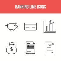 Bankliniensymbole