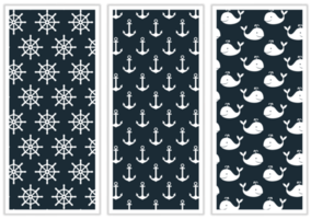 marin mönsterfabric design