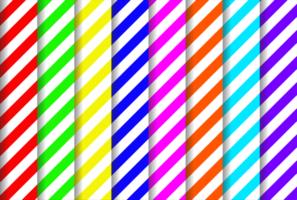 färgglada diagonala remsor mönster vektor