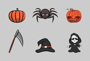Halloween Icon Set vektor