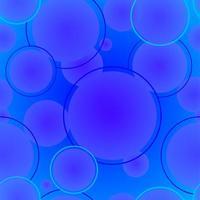 blaues Kreismuster