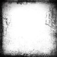 Grunge-Bordüre mit Kratzern und Flecken vektor