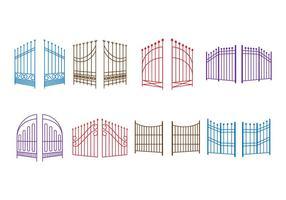 Free Open Gate Vektor