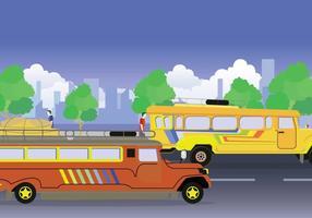 Kostenlose Jeepney Illustration