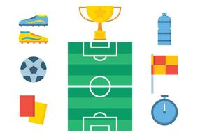 Gratis Soccer Vector