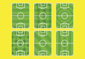Free Football Ground Icons Vektor