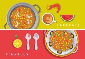 Paella-vektorkunst