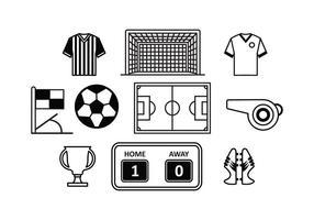 Freier Fußball-Vektor