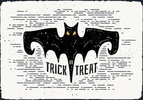 Gratis Halloween Bat Vector Illustration