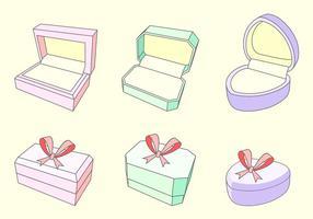 Ring-Box kostenlos Vektor