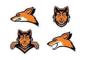 Freier Coyote Vektor