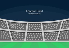 Fotbollsplan Bakgrund vektor