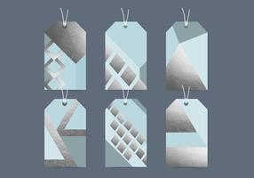 Vektor Geometrische Tags