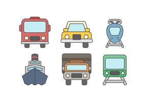 Kostenloses Fahrzeug Vektor