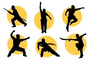 Freier Wushu Vektor