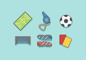 Gratis Fotboll Vektor