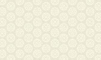 elegantes Kreismuster auf grau vektor