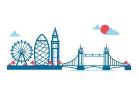 London Vector Stadt