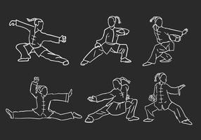 Wushu Vektor