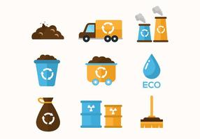 Free Müll Vektor-Icons