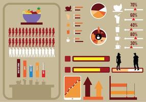 Set von infografischen Elementen