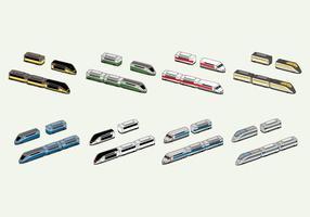 Freier TGV-Vektor vektor