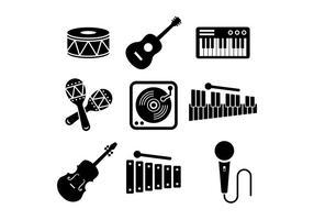 Gratis musikinstrumentvektor