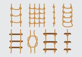 Seilleiter Icons vektor