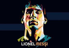 Lionel messi wpap vektor