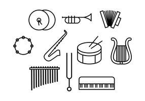 Freier Musik-Vektor vektor
