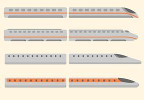 Gratis Bullet Train Vector