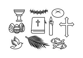 Gratis kristen vektor