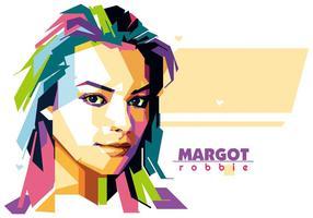 Margot Robbie - Hollywood Leben - WPAP vektor