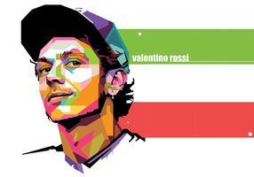Valentino Rossi - Sportleben - WPAP vektor