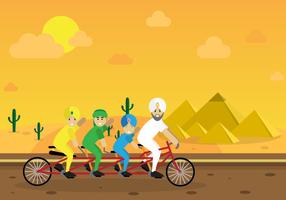 Sultan freie Vektor-Illustration