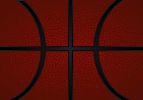 Gratis Basketball Textur Vektor Illustration