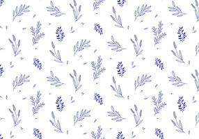 Vektor Pflanze Muster
