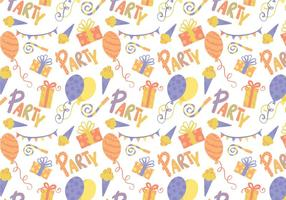 Freie Party Muster Vektoren
