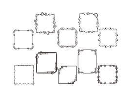 Freie Frames Vektoren