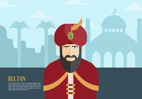 Sultan Hintergrund vektor