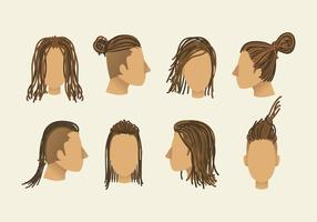 Free dreads vector