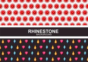 Rhinestone Hintergrund Vektor