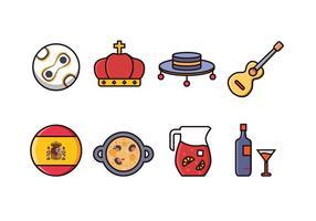 Kostenlose Spanien Icon Set
