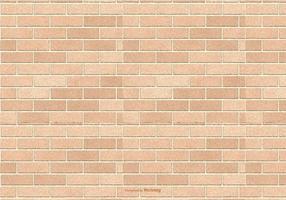 Brown Brick Pattern Hintergrund vektor