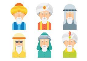 Free Sultan Icons Vektor